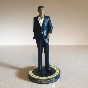 President Barack Obama Porcelain Doll